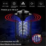 Iweed lampe anti moustique photocatalyseur intérieur et extérieur ampoule puissante -6
