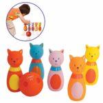LUDI, jeu de quilles en forme de chats
