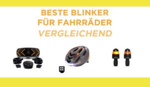vergleichend blinker für fahrräder