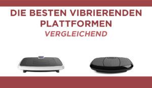 vergleichend vibrierenden plattformen