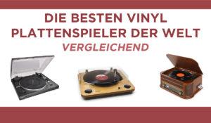 vergleichend vinyl plattenspieler