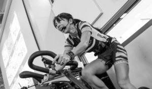 Cardio training en spin bike